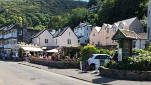 Lynmouth Harbour Road Shopping