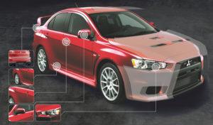 Защита кузова авто