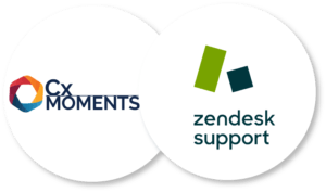 Cx Moments offers a full integration into Zendesk Support | Artificial Intelligence for Customer Support