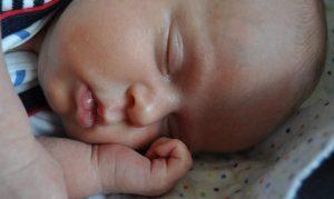 schlafender Säugling © Katrin Kläsi