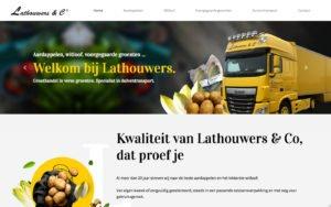 Op maat website + admin module voor duiventransport voor Lathouwers