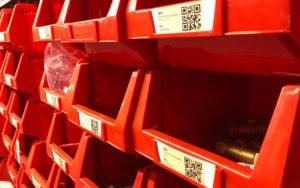 Software voor stockbeheer bij Guldager waterverzachters QR codes