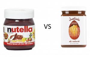 Nutella vs Almond butter