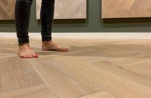 Vloerverwarming houten vloer Hoorn