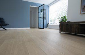 Geschuurde houten vloeren