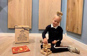 Kinderen houten vloeren Grou