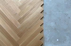 Semi tapis op vloerverwarming