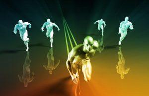 Wettrennen als Symbol für agiles Marketing