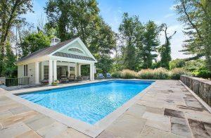 Katonah NY pool house design by DeMotte Architects