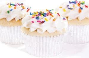 Jade & Jane Vanilla Bean Cupcakes