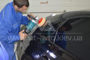 Процесс полировки Audi A8 фото 2