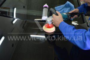Процесс полировки Audi A8 фото 1