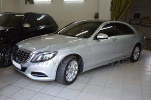Антигравийная пленка на Mercedes W222 фото 1