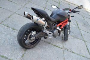 Винил на Ducati Monster фото 3