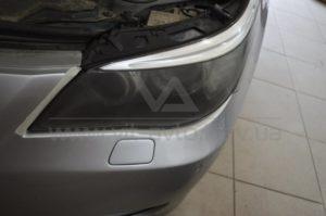 Полировка фар на BMW 5-Series фото 6
