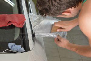 Оклейка зеркал Audi A5 фото 5