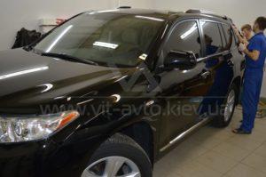 Нанокерамика на Toyota Highlander фото 1