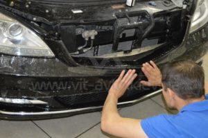 Антигравийная пленка на Mercedes W221 фото 5