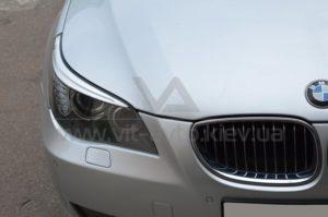 Полировка фар на BMW 5-Series фото 3