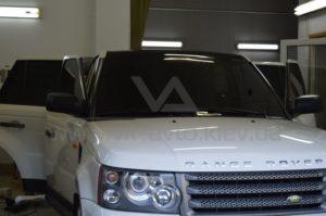 Оклейка винилом на Range Rover фото 2