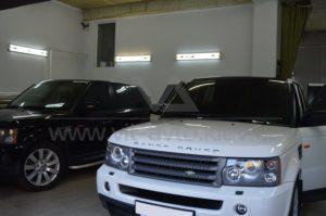 Оклейка винилом на Range Rover фото 1
