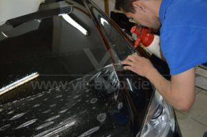 Антигравийная пленка на Mercedes W221 фото 3
