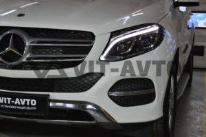 Нанокерамика на авто Mercedes-Benz GLE фото 2