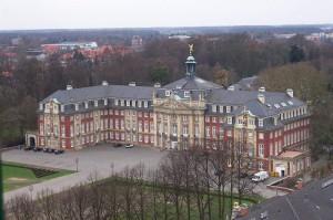 Das Erzbischöfliche Schloss Münster / Foto: Wikipedia/Zhaoyang Zeng/TK / Public Domain