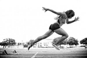 Female Sprinting