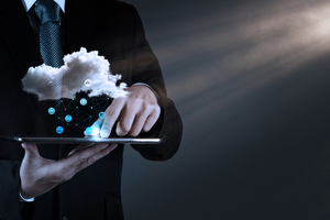 What is cloud computing Business man