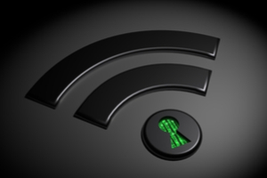 How does encryption keep data secure wifi
