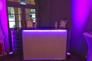 mobile Cocktailbar für Hochzeit
