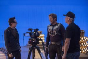 On Set and Behind the Scenes with James Gunn, Director, Guardians of the Galaxy Vol 2