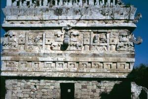 The ancient mayan city of Chichen Itza, Mexico - La Iglesia (The Church)