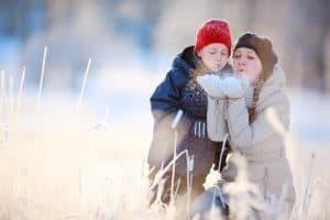 Taking on The Winter School Run