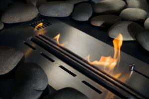 Tipp zum Bau erklärt Ihnen, wie die Flammen Ihres Elektrokamins kreiert werden.