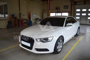 Антигравийная пленка на Audi A6 фото 1