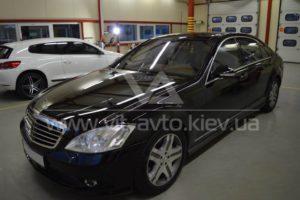 Тонировка Mercedes S-class фото 1