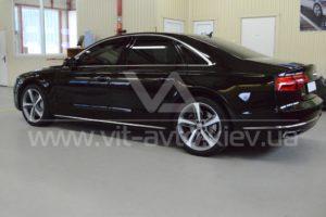 Фото защиты кузова Audi A8 пленкой и керамикой - 4