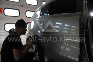 Фото антигравийной защиты кузова KIA Sportage - 2