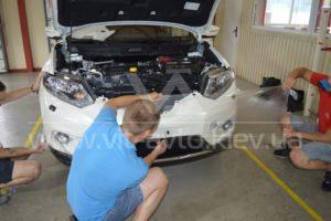 Фото защиты кузова Nissan X-Trail - 3