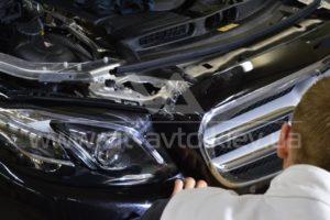 Фото антишравийной пленки на Mercedes-Benz C-Class - 5