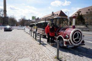 City-Train in Würzburg
