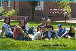 PGDM colleges Meghalaya