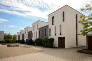 Häuser mit Flachdach