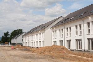 Unter den Haustypen bietet das Reihenhaus die günstigste Möglichkeit für ein Eigenheim