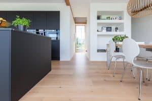 Blanke houten vloer Leeuwarden