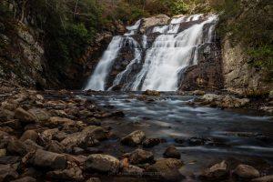 Laurel Falls in Autumn III