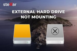 External Hard Drive Not Mounting on macOS