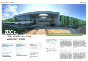 Industriebouw BIC Eindhoven Desiree Scheid WSP Infra Systabo Colpro